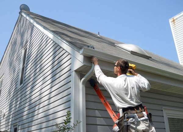 Save more by installing quality gutters at home.